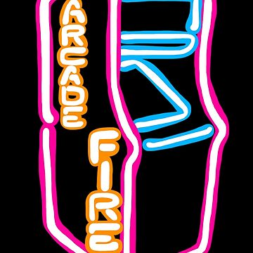 Arcade Fire Neon by EgomanticLizard