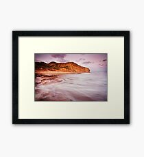 Bells Beach Southside Framed Print
