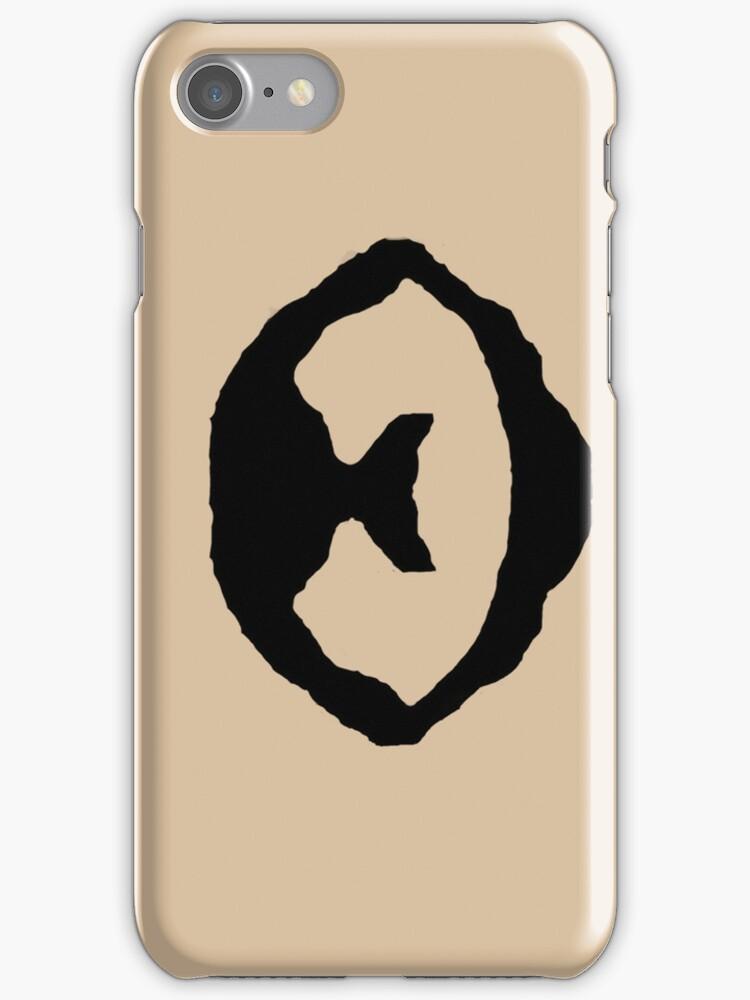 Robert Downey Jr. Beard iPhone/iPod Case by loltextit