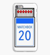 Matchbox 20 iPhone Case/Skin