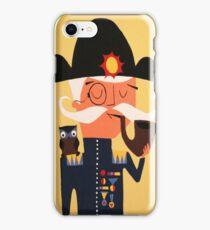 Admiral Von  Hooter.  iPhone Case/Skin