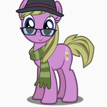 Hipster Girl (no text) by bronydoc