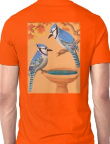 Blue Jays In Fall Unisex T-Shirt