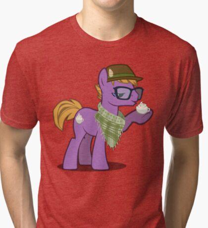 Hipster Guy (no text) Tri-blend T-Shirt