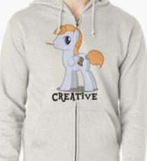 Creative Guy Zipped Hoodie