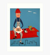 What's for Lunch?  Art Print