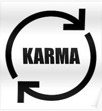 Karma Symbol Posters