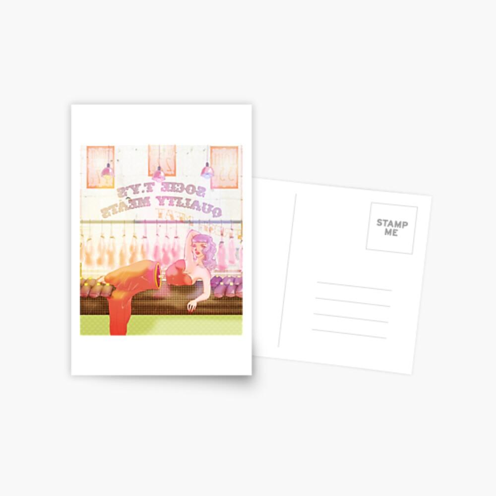 Medium Rare Postkarte