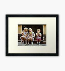 Ice Cream time, 1980s Framed Print