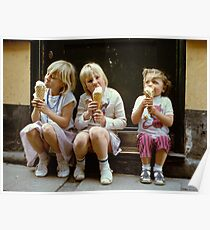 Ice Cream time, 1980s Poster