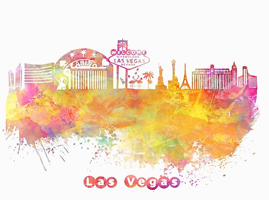 Las Vegas Nevada skyline by JBJart