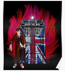 British Time lord Poster