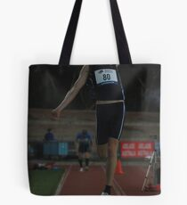 Adelaide Track Classic 2013 - Long Jump 4 Tote Bag