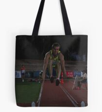 Adelaide Track Classic 2013 - Long Jump 7 Tote Bag