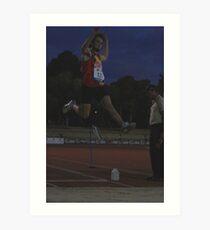 Adelaide Track Classic 2013 - Long Jump 9 Art Print