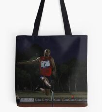 Adelaide Track Classic 2013 - Long Jump 14 Tote Bag