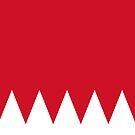 Bahrain Flag by pjwuebker