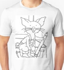 Mouse who wanted a cookie Unisex T-Shirt