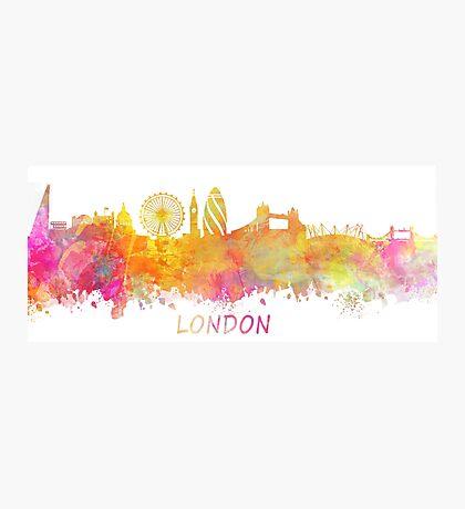 London Skyline pastel Photographic Print