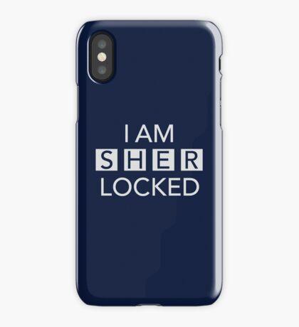 Sherlocked Blue iPhone Case