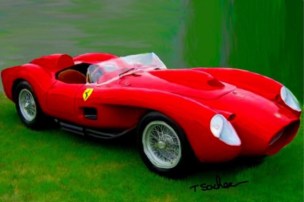 Ferrari Testa Rosa  by Tom Sachse