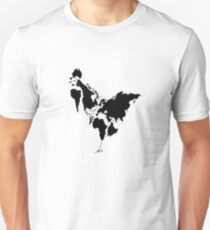 Continent Chicken Unisex T-Shirt