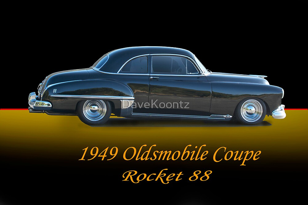 1949 Oldsmobile Coupe w/ ID by DaveKoontz
