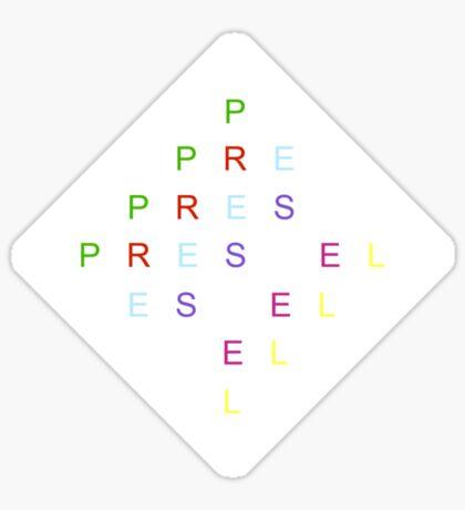 Prestel Sticker