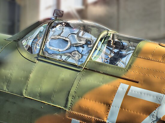 Spitfire Canopy - IWM Duxford - HDR by Colin  Williams Photography