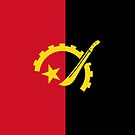 Angola Flag by pjwuebker
