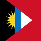 Antigua and Barbuda Flag by pjwuebker
