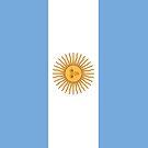 Argentina Flag by pjwuebker