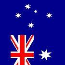 Australia Flag by pjwuebker