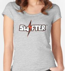 The Swifter Women's Fitted Scoop T-Shirt