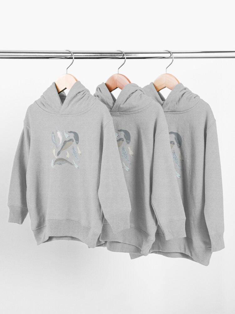 Alternate view of Seals Toddler Pullover Hoodie