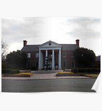 Governor's Mansion, Arkansas, USA. Poster