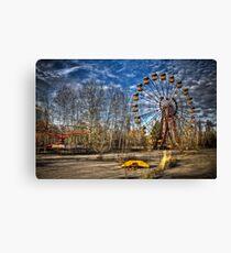 Prypiat/Chernobyl Abandoned Ferris Wheel Canvas Print