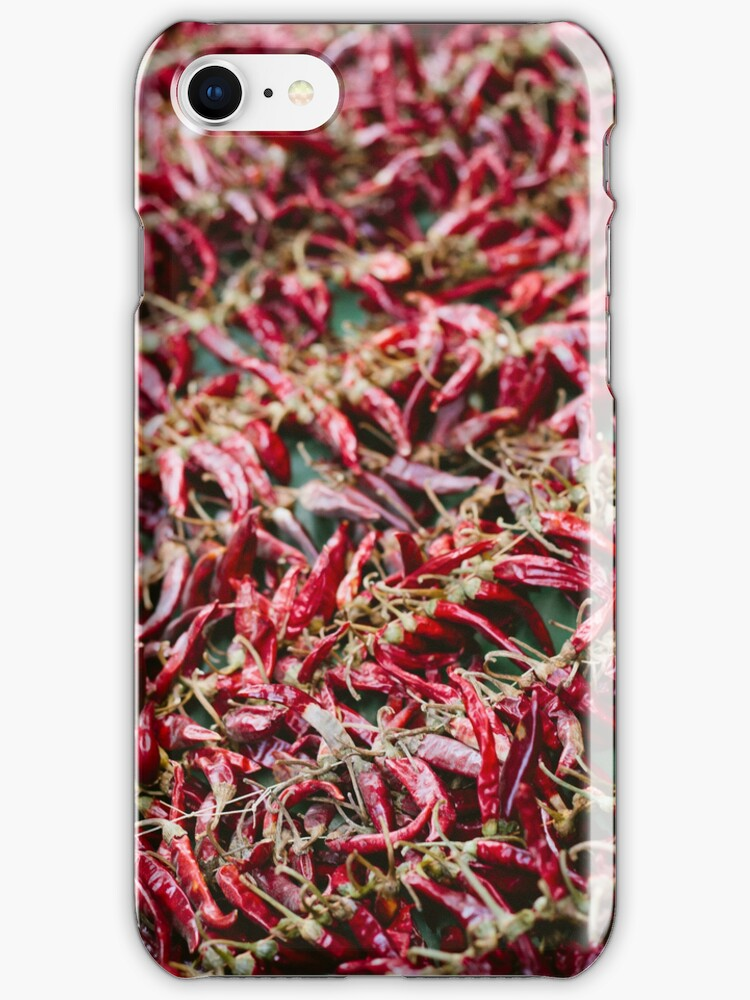 Red Hot Chili Peppers iPhone Case by dantejr
