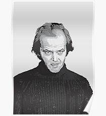 Jack Nicholson (Jack Torrance) The Shining  Poster