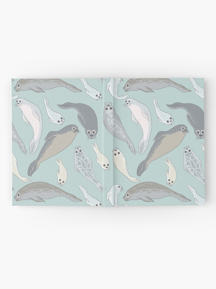 Alternate view of Seals Hardcover Journal