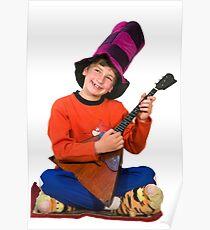 Boy vis balalayka Poster