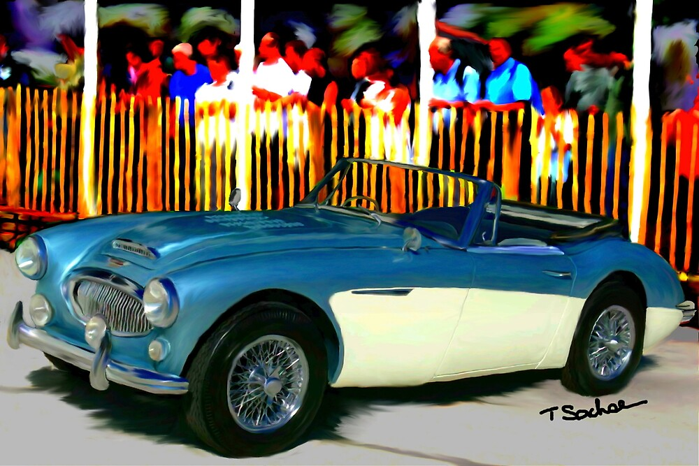 1965 Austin Healy 3000 by Tom Sachse