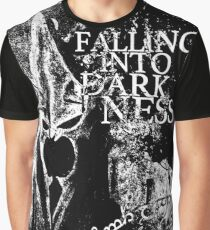 Falling into Darkness Graphic T-Shirt