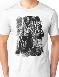 Falling into Darkness Unisex T-Shirt
