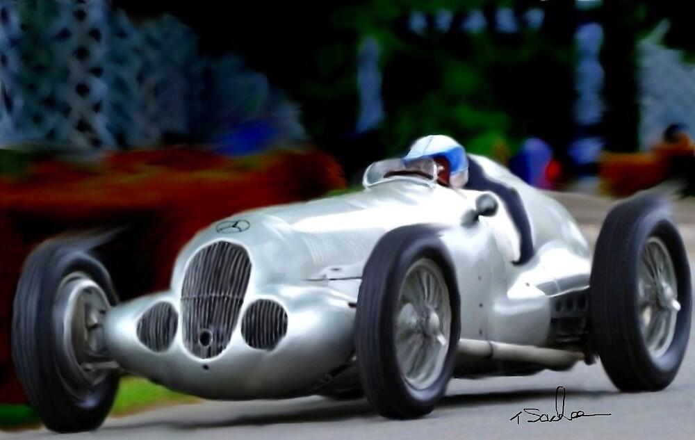 Mercedes W 125  by Tom Sachse