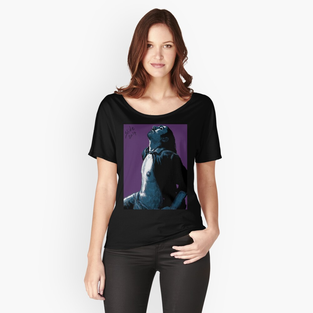 """""""His Chest, 2014"""" Relaxed Fit T-Shirt"""