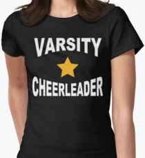 Varsity Cheerleader Women's Fitted T-Shirt
