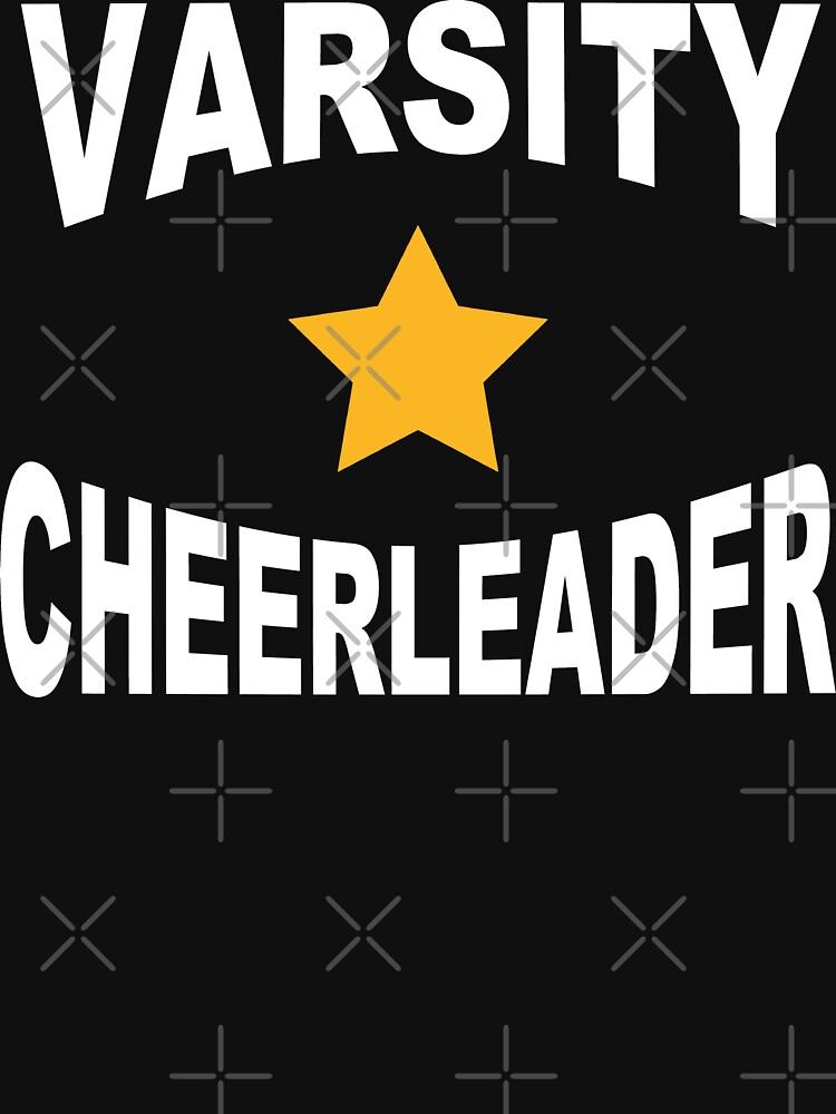 Varsity Cheerleader by SportsT-Shirts