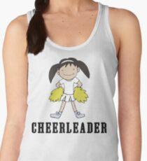 Cute Cheerleader Women's Tank Top