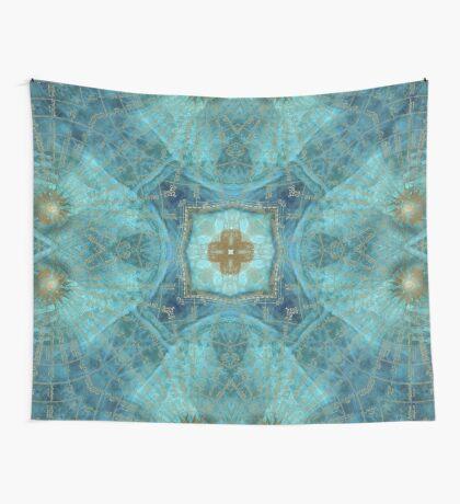 Mandala wind rose Wall Tapestry